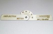 Charger R/C Deflection Meter